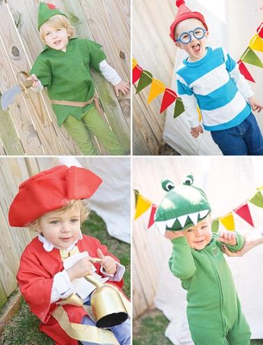 una espectacular fiesta de Peter pan para niños