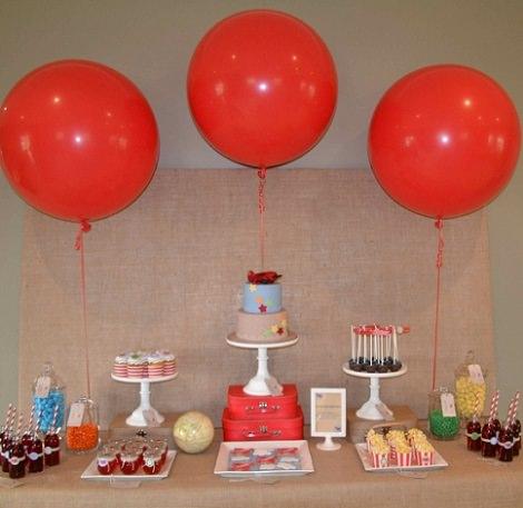 fiesta de cumpleaños de estilo vintage
