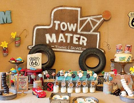 Ideas para organizar un cumplea os de cars en casa - Fiesta de cumpleanos en casa para ninos ...