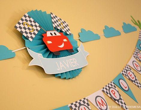 fcbaf7661 Ideas para un cumpleaños de Cars