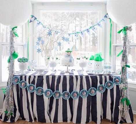 Ideas para organizar un cumpleaños infantil en Navidad