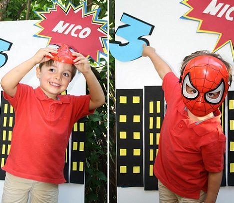 ideas para un cumpleaños de spiderman