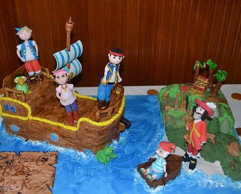 ideas para una fiesta de jake y los piratas de nunca jamas