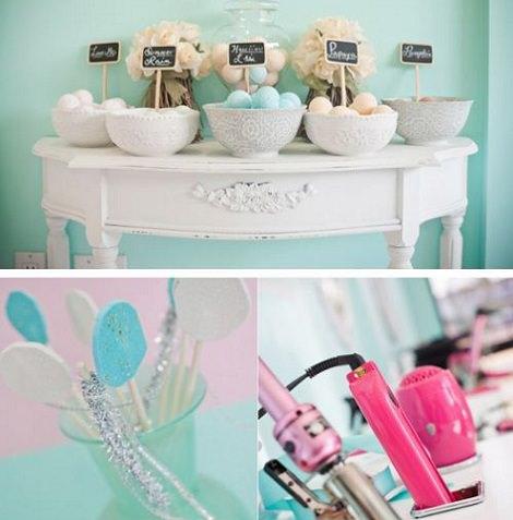 mesa spa para niñas