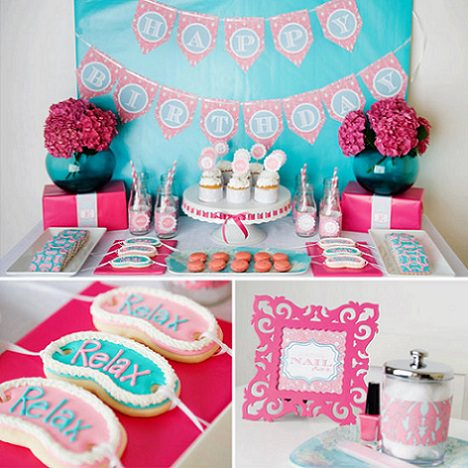 Ideas originales para una fiesta spa para ni as - Ideas originales para cumpleanos adultos ...