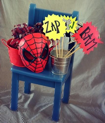 ideas para organizar un cumpleaños casero de spiderman