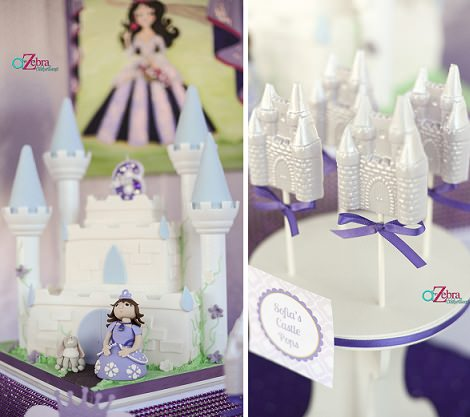 dulces decorados para fiesta de princesas