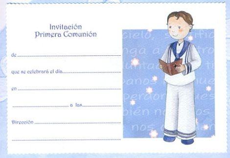 4026fb6dfb039 8 Invitaciones de Comunión para imprimir gratis