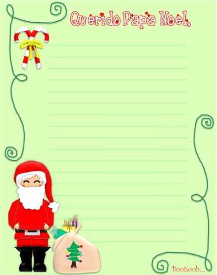 carta a papa noel 2014