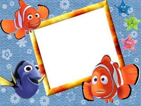 Invitación de Buscando a Nemo