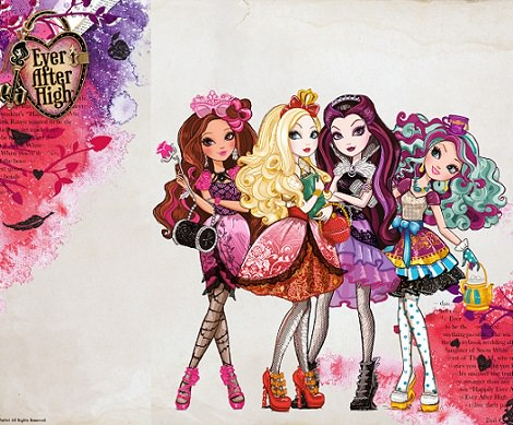invitaciones de cumpleaños ever after high