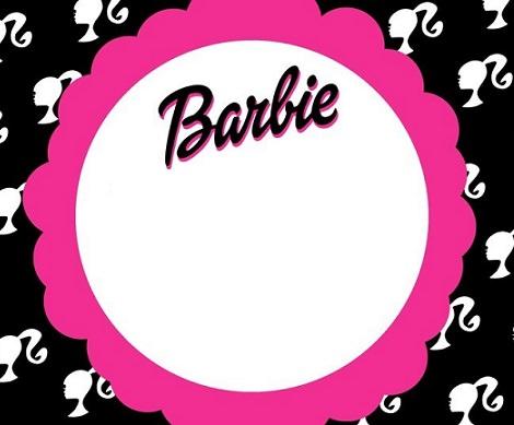 invitaciones de cumpleaños de barbie