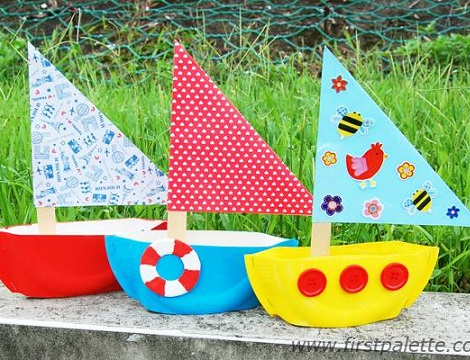 Como Hacer Un Barco De Papel Con Materiales Reciclados