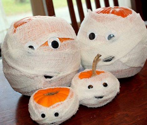 Cmo decorar calabazas de Halloween con los nios