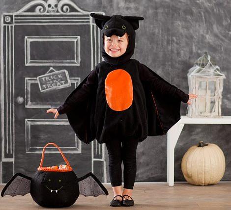 disfraz casero de murcielago de halloween