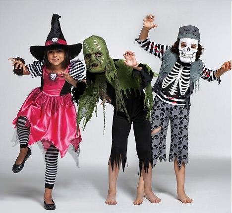 Disfraces caseros de Halloween para los nios
