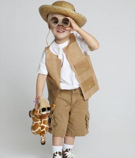 disfraz de explorador casero
