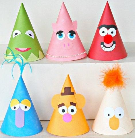 Sombreros y gorros divertidos para fiestas infantiles for Manualidades decoracion infantil