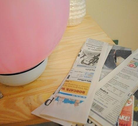 cómo hacer papel mache