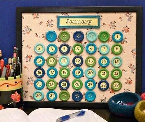 calendario para hacer con niños