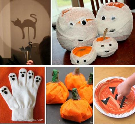 Manualidades infantiles para hacer en halloween for Decoracion halloween manualidades