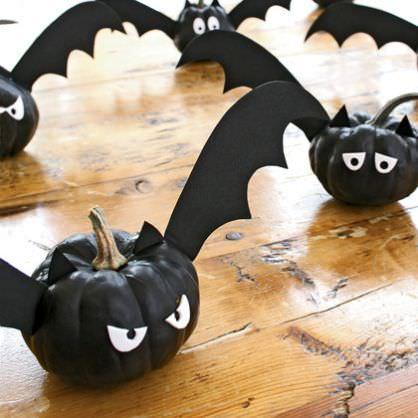 calabazas decoradas de halloween para niños