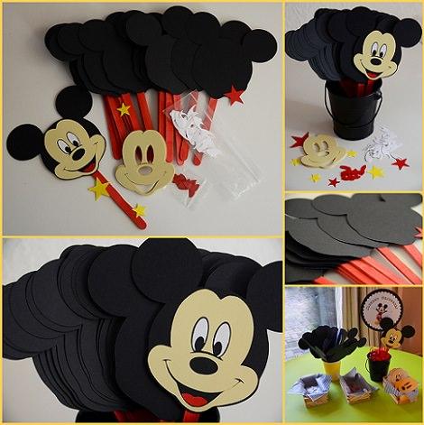 Manualidades de mickey mouse para hacer con los ni os - Como hacer fotos a bebes en casa ...
