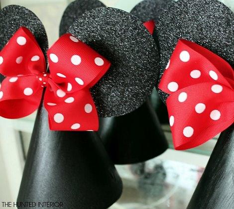 manualidades de mickey mouse para hacer con los niños sombreros