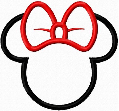siluetas de minnie mouse para imprimir