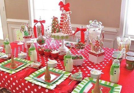 tartas navidacentros de mesa navidad