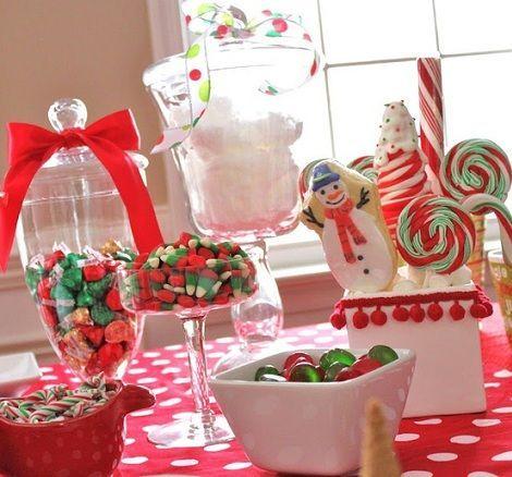 mesa navidad ninos