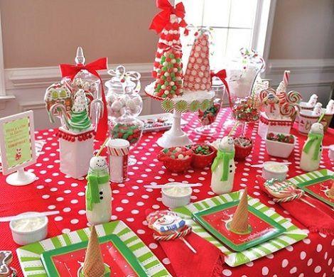Mesa navidad ni os - Decoracion de navidad para la mesa ...