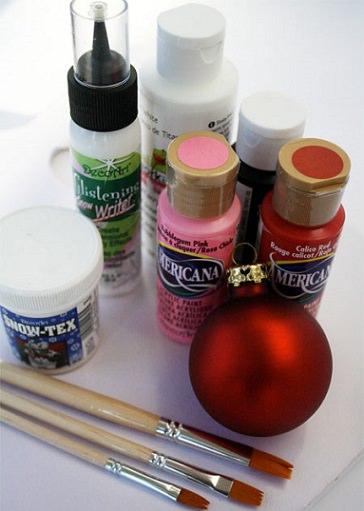 materiales para hacer adornos de Navidad caseros para niños