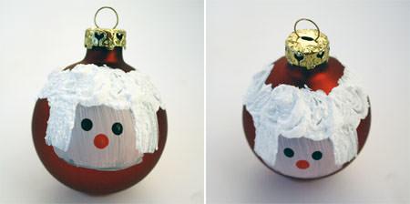 bolas para el árbol de navidad caseras