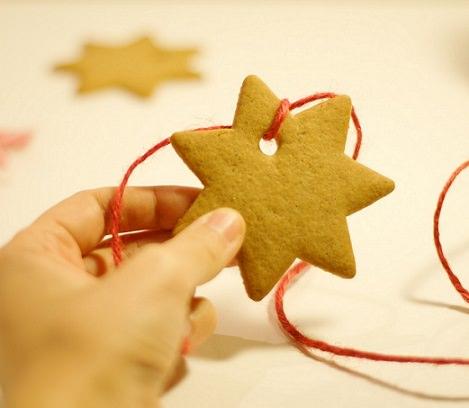 adornos de galleta para el árbol