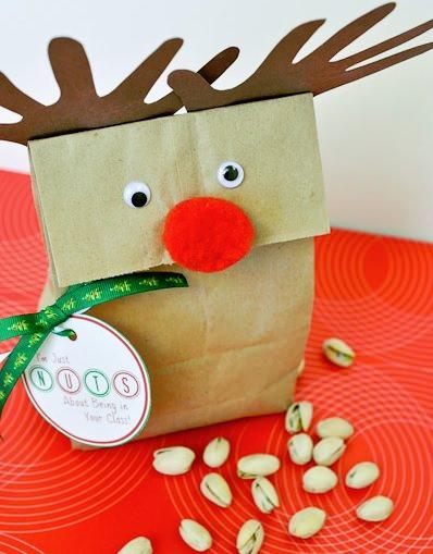 bolsa de rudolf para navidad