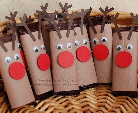 Manualidades infantiles navidad for Trabajos artesanales para hacer en casa