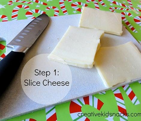 aperitivos de navidad cortar queso