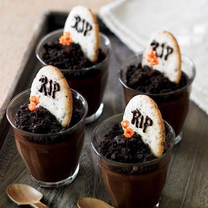 lápidas de chocolate para halloween