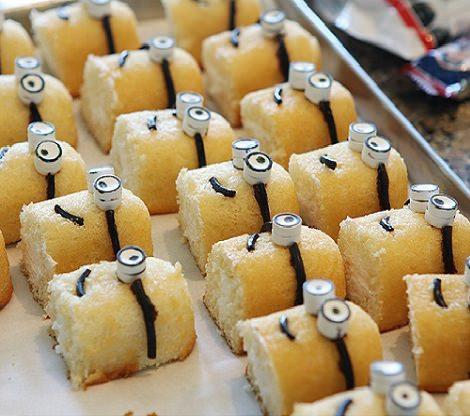 Cómo hacer cupcakes de Minions para una fiesta infantil