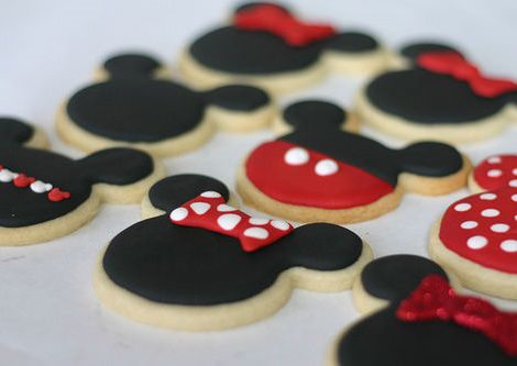 galletas decoradas de mickey mouse