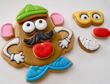 galletas decoradas de mr potato