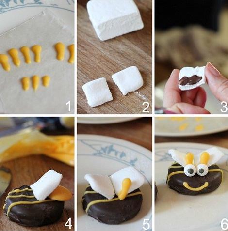 receta de galletas de oreo decoradas proceso