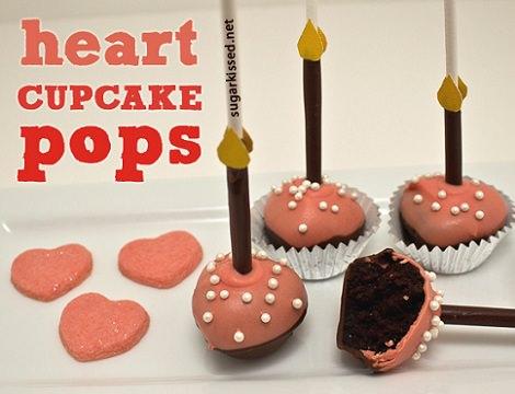 Receta fácil de cake pops para San Valentín