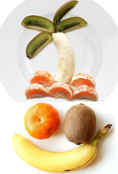 3 recetas de cocina fáciles para niños con fruta