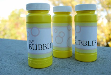 burbujas e jabón para regalar