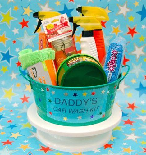 kit de limpieza para el coche de regalo para el día del padre