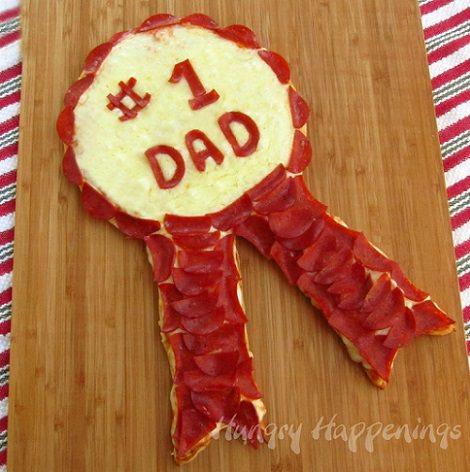 pizza casera para el día del padre