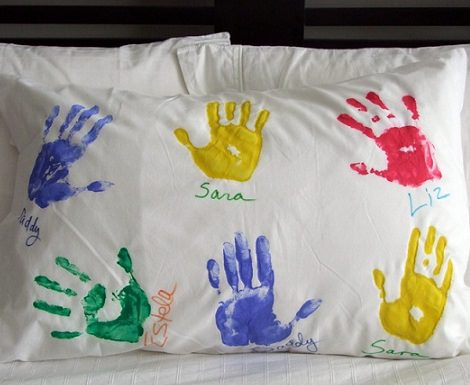 regalos originales; almohada casera