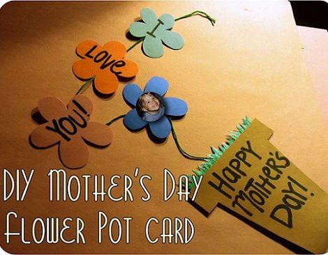 tarjetas infantiles para el dia de la madre